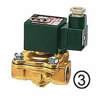 Solenoid valves, closed when de-energised, pilot-operated