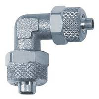 connector elbows - Nickel-plated brass