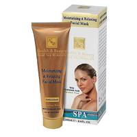 Маска для лица  Health&Beauty улажняющая и расслабляющая, Moisturizing&Relaxing Facial Mask  100 мл.