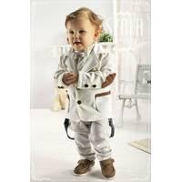 Модний дитячий трикотажний піджак, арт YM001 (Krasnal, Польща)