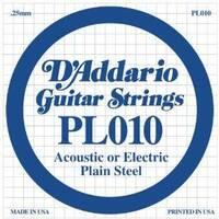 D`ADDARIO PL010 Plain Steel 010