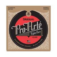 D`ADDARIO EJ49 PRO-ARTE BLACK TREBLE NORMAL TENSION