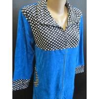 Зручні халати з велюру для жінок.