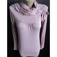 Платье женское с вшитым шарфом