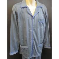 Мужские байковые пижамы купить оптом.
