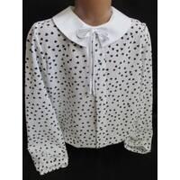 Школьные красивые блузы для девочек