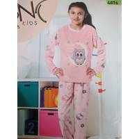 Пижамы для девочек из махры и флиса