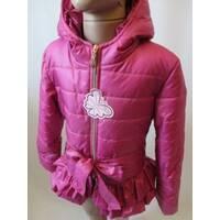 Купить детские куртки с оборками из плащевки