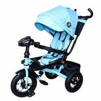 Bелосипед трехколесный MiniTrike над. (голубой джинс)