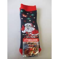 Купить оптом носочки с новогодним рисунком.