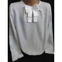 Купить легкие блузы для девочек в школу.