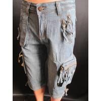 Мужские джинсовые бриджи на лето