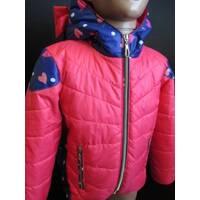 Яркие куртки для девочек
