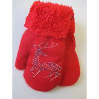 Теплые рукавички на зиму.