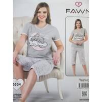 Хлопковые женские пижамы из Турции.
