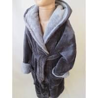 Теплые махровые халаты с капюшоном