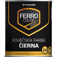 "Фарба ""Chemolak Ferro Color Efekt"" ковальська чорна 2,5л. (RAL 7024)"