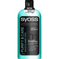 ШАМПУНЬ SYOSS PURIFY&CARE 500МЛ.