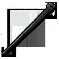 Шпилька з тримачем для трубки (10 шт)