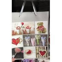 Пакет подарочный в ассортименте цветов