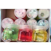 Жуйка для рук Коктейль з кульками / асорті кольорів / вага 100 грам