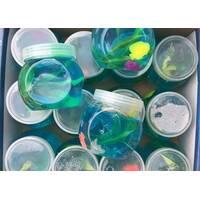Жуйка для рук Морські тварини з водоростями / асорті кольорів / вага 100 грам