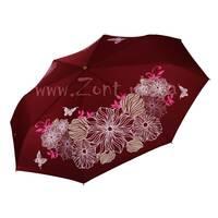 Женский зонт меняющий цвет при намокании Три Слона ( полный автомат ) арт. L3822-49