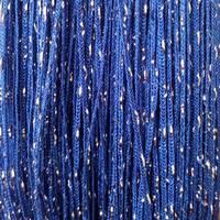 штори нитки однотонні дощ номер 208 сині