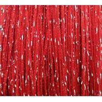 однотонні штори нитки дощ номер 17 червоні