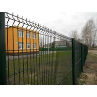 Секції огорожі з вигином Заграда Еко Стандарт з полімерним покриттям купити в Україні