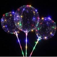 Светящийся воздушный шар с led-гирляндой / 8935