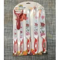Набор кухонных метал/керам ножей 6шт / А470/48