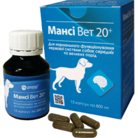 Манси Вет 20+ для нервной системы собак