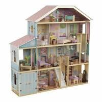 Будиночок ляльковий Grand View Mansion Dollhouse KidKraft 65954  з системою легкого збирання  EZ Kraft Assembly