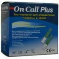Тест-полоски ACON On - Call Plus Test - strips №50 (Он-Колл Плюс Тест-полоски №50)