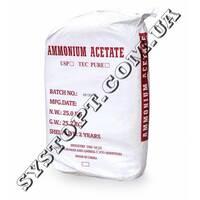 Ацетат амонію (амоній оцтовокислий)