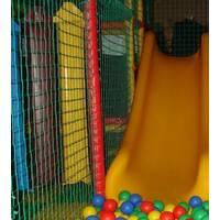 Сетка заградительная (разделительная) капроновая цветная для улиц и залов, 60х60, 4,5 мм