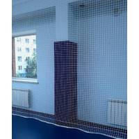 Сетка заградительная (разделительная) капроновая белая для улиц и залов, 60х60, 4,5 мм