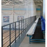 Сетка заградительная (разделительная) белая для улиц и залов, 60х60, 3,5 мм