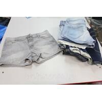 Секонд хенд, Шорты джинсовые молодежные жен 1с лето Польша