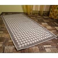 Килим підлоговий 100смХ200см сірий