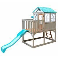 Будинок деревяний дитячий з гіркою Kidkraft Highline Retreat F29060EF