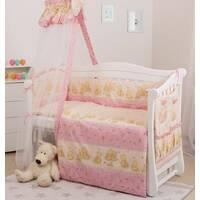 Постель Twins Standart С- 016 Мишки со звездой розовые