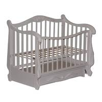Кровать Колисани Корона белое