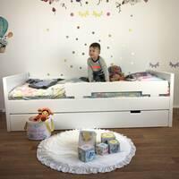 Дитяче деревяне ліжко Модерн для дитини