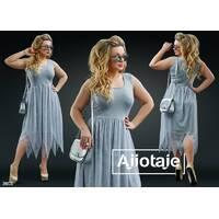 Платье - 20175 (серый)
