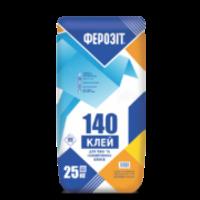Клей для піно-газобетонних блоків Ферозіт 140