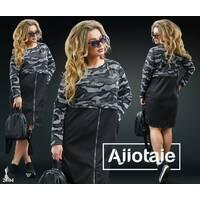 Платье - 20164 (черный)