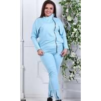 Спортивный костюм 856351-1 голубой Весна 2018 Украина