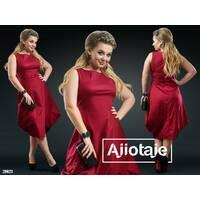 Платье - 20023 (бордовый)